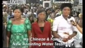 HEALING from Kidney Problem after Prayer with New Anointing Water