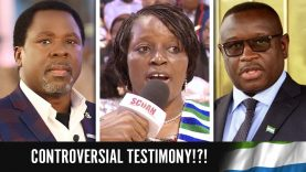CONTROVERSIAL TESTIMONY FROM SIERRA LEONE