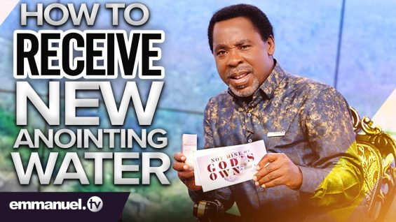 HOW TO RECEIVE THE NEW ANOINTING WATER! | Prophet TB Joshua 💧🔥💧