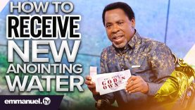 HOW TO RECEIVE THE NEW ANOINTING WATER 2021