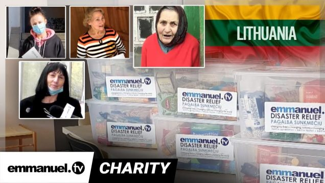 Lithuania COVID-19 Lockdown CHARITY 🇱🇹| Emmanuel TV Partners!