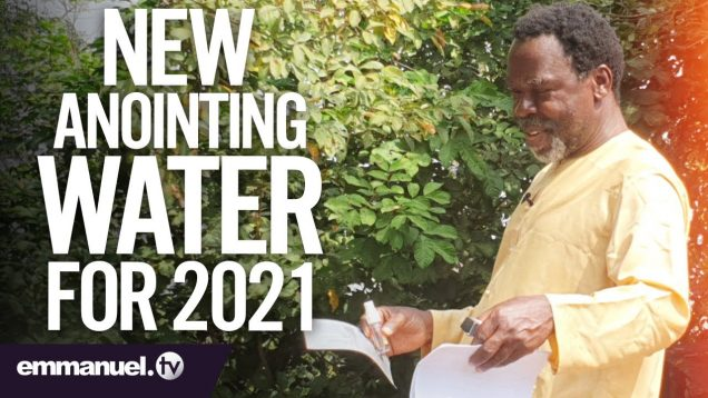 TB JOSHUA INTRODUCES NEW ANOINTING WATER FOR 2021!